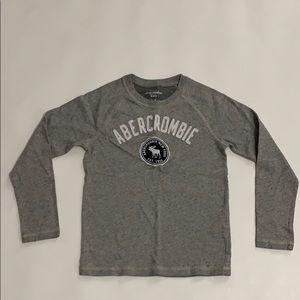 Abercrombie light weight grey sweat NWOT size 7/8